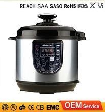 China Non Stocked Smart Cooking Korea Safety Valve Pressure Cooker 220V