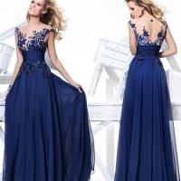 Quality Hot Sell Evening Dresses CSXN6668Nice Top Royal Blue Party Evening Dresses for sale