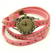 Quality YJ413 vogue ladies cow leather watch for sale
