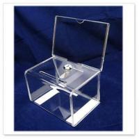 Wholesale Acrylic Donation Box With Lock