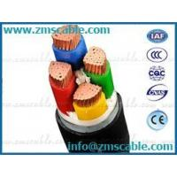 Buy cheap Steel or Aluminum Wire Armored 0.6/1KV PVC insulated PVC sheathed 4 core copper cable from wholesalers