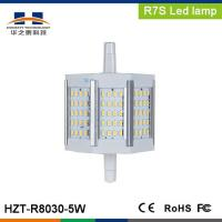 Buy cheap LED R7s plug lamp series R7S 5W SMD3014 60pcs 400-450LM product