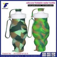 Quality Food Grade Silicone Bulk Water Bottles Custom Diy Water Bottle Labels With Company LOGO for sale