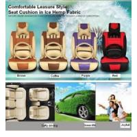 Buy cheap CAR SEAT COVER Ice Silk Linen Seat Cushion from wholesalers