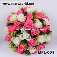 China Wedding Artificial Flowers/Decorative Rose Bouquet for Wedding&Home&Event Decorations on sale