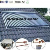 China Evacuated Tube Solar Collector With EN12975 on sale