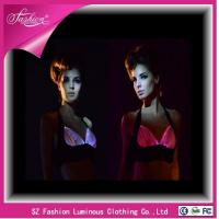 Buy cheap YQ-26 2015 new products fashion optic fiber luminous backless bra from wholesalers