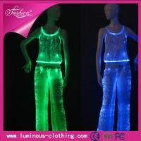 Buy cheap YQ-66-62women top and pant set, light up costume, led costume, stage costume from wholesalers