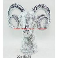 Buy cheap Resin Deer Wall Hanging from wholesalers