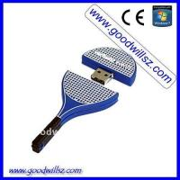Quality Tennis racket usb flash drive for sale