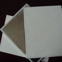 Buy cheap PVC Laminated Gypsum Ceiling Tile from wholesalers
