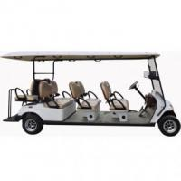 Quality 8 seats electric golf carts with jumper seat, EG2069KSF for sale