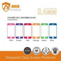 Quality Color fultempered glass screen protector for iPhone 4,4s for sale