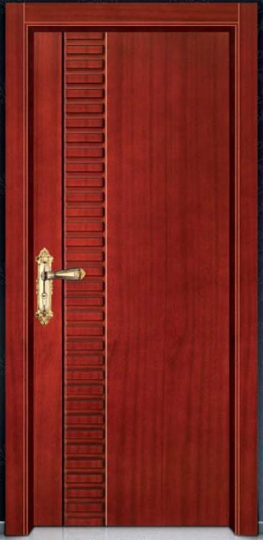 China Solid wooded door series YY-6002