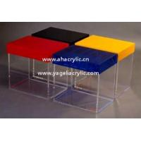 Quality acrylic box with lid for sale