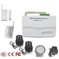 Quality GSM Auto-Dia Alarm System with 99 wireless zones and 7wired for sale