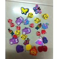 Quality Colorful PVC Charms for Loom Bands Bracelet Rubber Band Bracelet for sale