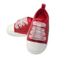 China cute newborn baby girl shoes pink baby shoes BHCA0006 on sale