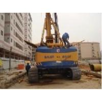 Quality sold used Bauer rig piling rig at the working site for sale