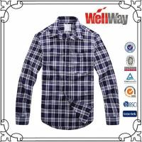 Quality 100 Cotton Flannel Shirt For Men for sale