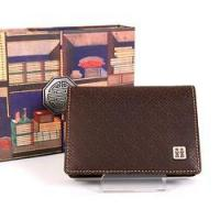 Quality Leather Business Card Holder - Happiness for sale