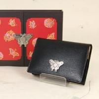 Quality Leather Business Card Holder- Butterfly for sale