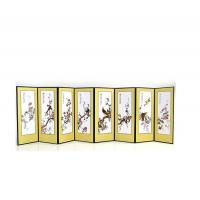 Quality Silk Wall Screen - Birds and Flowers for sale