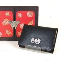 Quality Leather Business Card Holder - Bat for sale