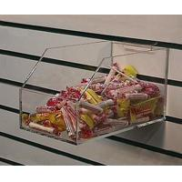 Acrylic Counter Displays Clear acrylic slatwall candy box for sale