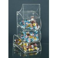 Acrylic Counter Displays Acrylic Candy Box for sale