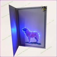 Quality Flashing LED Melody Greeting Card with Photo for sale