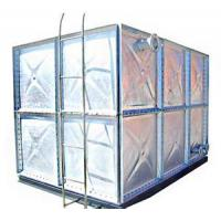Quality Assembled Hot Dipped Galvanized Steel Water Tank for sale