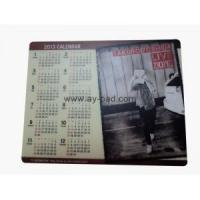 Buy cheap Mouse pad with calendar from wholesalers