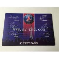 Quality Custom Full Color Promotional Desk pad,counter mat, Table Mat for sale