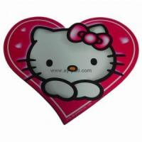 Buy cheap Custom Shape Printed Paper Eva Mouse Pad Anti-Slip For Promotion from wholesalers