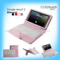 Quality High Ending Detachable Wireless Bluetooth Keyboard for Google Nexus 7 2 for sale