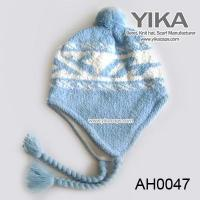 China 201388101010Blue baby crochet hat winter hat on sale