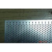Quality Galvanized Steel / Stainless Steel Perforated Sheet For Display Shelf for sale