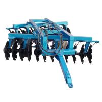 Hydraulic heavy duty offset disk harrow