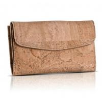 Quality Good quality wholesales price women cork leather handmade wallet for sale