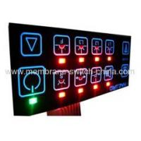 Quality EL backlight membrane keypad/membrane switch panel for sale