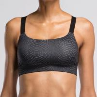 Quality #BRA003 Lady High Quality Black Snake Print/V2 FITNESS Sport Yoga Bra Top for sale