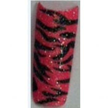 Buy Zebra hot pink small glitter at wholesale prices