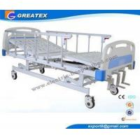 Buy cheap Hospital Clinic Family OEM 3 Adjustable Medical Beds Steel Wooden from wholesalers
