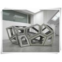 Quality Large Abstract Irregular Stainless Steel Sculpture For Exhibition for sale