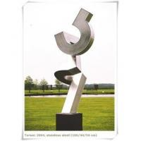Quality Art Collection Corrosion Metal Steel Sculpture Use Garden Entrance for sale