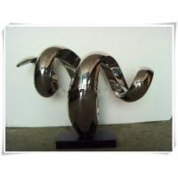 Quality Stainless Steel Abstract Sculpture Snake Shape for sale