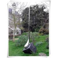 Quality Garden Art Decoration Stainless Steel Rain Drops Sculpture for sale