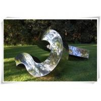 Quality Irregular Shape Stainless Steel Metal Sculpture Outdoor Decoration for sale