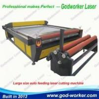Buy cheap GW-2030 Automatic Feed Laser Cutting Machine for Garments Cloth product